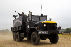 US army guntruck Royalty Free Stock Image
