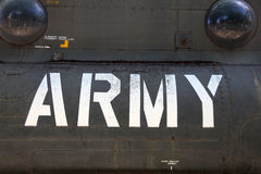 US Army Helicopter Detail Stock Photos