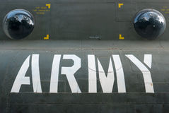 US Army Helicopter with the letters Army in Ho Chi Minh Stock Photos
