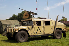 US army Hummer vehicle Royalty Free Stock Photo
