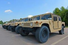 US Army Humvee in Potsdam, New York, USA. US Army Humvee in Potsdam, New York State, USA stock image