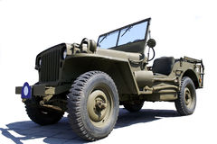 Us army jeep. World war two US army jeep Royalty Free Stock Photo