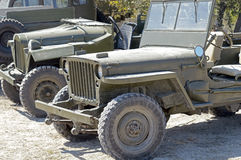 US army jeep Royalty Free Stock Image