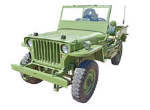 US army jeep Royalty Free Stock Images