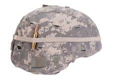 Us army kevlar helmet stock photo