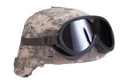 Us army kevlar helmet Stock Image