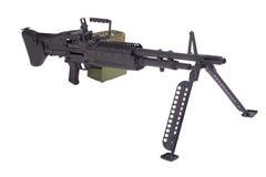 US ARMY M60 machine gun Stock Photo