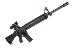 US Army M16 rifle Royalty Free Stock Photo