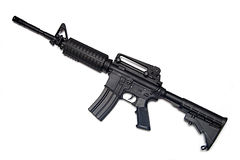 US Army M4A1 rifle. royalty free stock photography