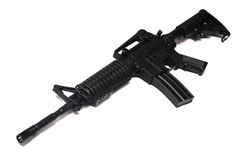 US Army M4A1 rifle isolated. Stock Photo