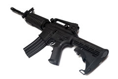 US Army M4A1 rifle. Special Forces weapon. Stock Photography