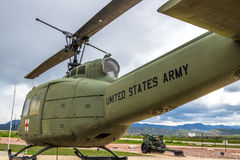 US Army Medic Helicopter Stock Photography