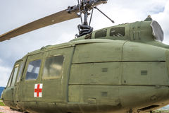 US Army Medic Helicopter royalty free stock photos