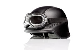 US ARMY motorcycle helmet Royalty Free Stock Image