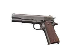 US Army Pistol Colt M1911 A1 Government Model Stock Images