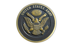 US Army Plaque Stock Photos