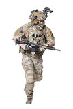 US Army Ranger with weapon royalty free stock photography