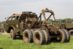 US army recovery truck Royalty Free Stock Images
