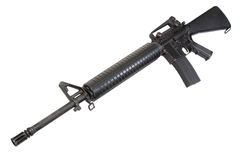 US Army service rifle M16 rifle Stock Photography