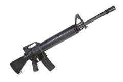 US Army service rifle M16 rifle Royalty Free Stock Photos