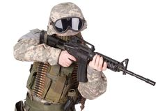 US ARMY soldier Royalty Free Stock Photo