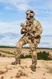 US Army Special Forces Group soldier Stock Image
