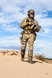 US Army Special Forces Group soldier stock images