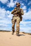 US Army Special Forces Group soldier royalty free stock photos