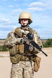 US Army Special Forces Group soldier stock photo