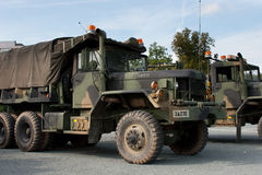 US Army Truck - cold war Royalty Free Stock Photography