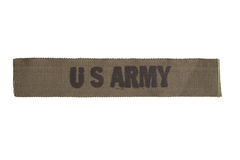 US ARMY uniform badge Stock Image