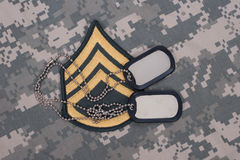 Us army uniform Stock Images
