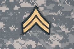 Us army uniform Royalty Free Stock Photography