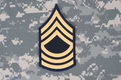 Us army uniform Royalty Free Stock Photos