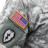 US army uniform Royalty Free Stock Image