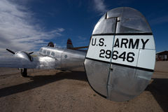 Us army vintage military aircraft in tucson arizona usa Stock Images