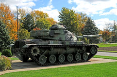 Us army wwll military tank. Image of a US army WWll military tank Stock Images