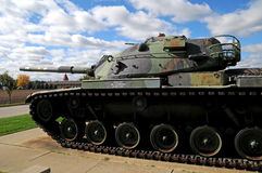 Us army wwll military tank. Image of a US army WWll military tank Royalty Free Stock Images