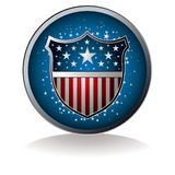 Us badge Stock Photography