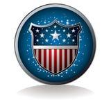 Us badge Stock Photography