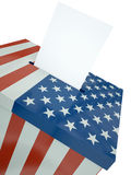 US ballot Royalty Free Stock Image