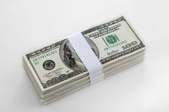 US bank notes Royalty Free Stock Image
