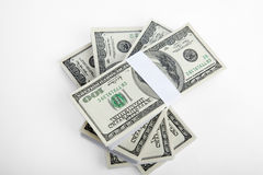 US bank notes Stock Image