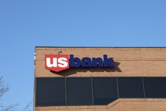 US Bank, Saint Louis, MO stock photos