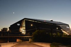 US Bank Stadium in Minneapolis, Minnesota royalty free stock image