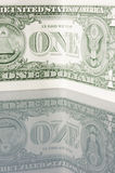 US-Banknote $1 Stockfotos