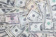 US-Banknoten stockfoto