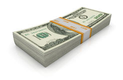 Us banknotes Stock Photography
