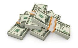 Us banknotes Royalty Free Stock Photo