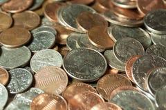 US-Bargeld (Münzen) Stockbilder